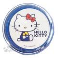 〔小禮堂〕Hello Kitty 桌上型吸塵器《藍白.側坐.吊帶褲》掌上型.盒裝5983164-72701