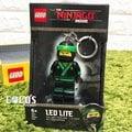 樂高鑰匙圈 NINJAGO 樂高旋風忍者 綠忍者 勞埃德忍者 人偶造型LED 鑰匙圈盒裝 COCOS LG320