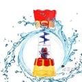 洗澡玩具寶寶洗澡神器 旋轉舀水戲水筒 戲水洗澡玩具 旋轉戲水杯【男主爵】浪漫衣櫥
