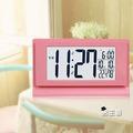 電子鬧鐘貪睡小鬧鐘創意學生靜音床頭簡約多功能智慧時鐘夜光小電子鐘數碼【男主爵】浪漫衣櫥
