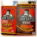 【Brand T】免運 BEN DAVIS RETORT CURRY TASTE BBQ口味*辣味*咖哩*料理包*猿人 / BDZ-9000、BDZ-9001