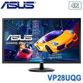 ASUS 華碩 VP28UQG 28型 TN面板 4K 電競顯示器 / 低藍光+不閃屏 / HDMI、DP / FreeSync