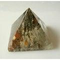 □§Disk的天然水晶§□【招財磁場】彩色幽靈水晶金字塔GS09-A貨專賣