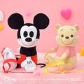 【SEGA】日版 Disney迪士尼 景品 米老鼠 米奇 絨毛娃娃 造型後背包 A款