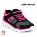 【Skechers】【全方位運動戶外館】童款休閒鞋 GO RUN 400-黑色 (81358LBKHP)