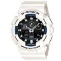 CASIO G-SHOCK/搶眼雙顯配置經典運動錶/GA-100B-7ADR
