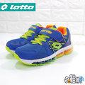 LOTTO 運動鞋 跑步鞋 休閒鞋 氣墊鞋 戶外鞋 透氣網布【哈鞋網】LT5AKR2596 藍色