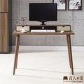 【日本直人木業】簡約生活收納書桌(3分鐘簡單組立四隻腳-簡單組裝DIY)