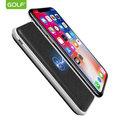 GOLF-W2馬賽克行動電源適用 iPhoneX蘋果8 三星S7/S8/Note8 無線充電 無線行動電源8000毫安
