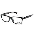 Ray Ban 雷朋 RB5296D-2000 光學眼鏡-黑框【KEL國際精品眼鏡 台灣原廠公司貨】