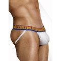 AussieBum 運動型魔術4D透氣棉提臀內褲 - 白底