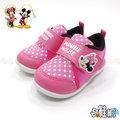 DISNEY 迪士尼米妮 寶寶鞋 休閒鞋 帆布鞋 【哈鞋網】MD117033P 粉色