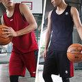 [ FEEL 9s ] NCAA 單層雙面穿 輕量 排汗 球衣+球褲 火紅 機能黑 C614303-250