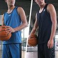 [ FEEL 9s ] NCAA 單層雙面穿 輕量 排汗 球衣+球褲 湖藍/機能黑 C614303-580