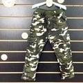 ☆棒棒糖童裝☆(B576299)秋冬男童鬆緊腰迷彩左右大口袋內刷搖粒絨長褲 5-15