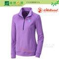 《綠野山房》Wildland 荒野 台灣 女 雙色保暖上衣 T恤 保暖 登山 健行 旅行 出國 粉紫 0A32601-50