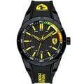 Ferrari 法拉利手錶 0830302 黑黃素面基本款