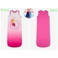 出口歐洲FROZEN冰雪奇緣艾莎與安娜公主粉漸層背心式睡袋(110cm以下適用)特價590元/件