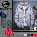 【N.F】輕羽絨防風情侶外套-男女款/白色