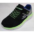 SKECHERS 童款休閒鞋GO RUN 400-PROXO黑綠色-97680L/BKCC [陽光樂活]