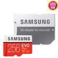 Samsung 256GB 256G microSDXC【100MB/s】microSD SD SDXC EVO Plus UHS U3 4K C10 MB-MC256G 手機記憶卡