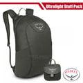 【美國 OSPREY】Ultralight Stuff Pack 18L 超輕量多功能攻頂包/壓縮隨身包.隨行包.小背包.輕便日用包.雙肩包.單車背包.自行車 暗影灰 R