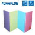 FUNNYLON 韓國地墊加厚版粉彩系列(小) 200x90x4.2cm N-LSI062-2-00-FF