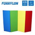 FUNNYLON 韓國地墊加厚版繽紛系列(小) 200x90x4.2cm N-LSI062-1-00-FF
