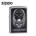 【詮國】Zippo 日系經典打火機 - 哈雷 紅眼振翅骷髏 - 29558 / ZP590