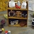 酷個性 zakka 精品雜貨 木製三層三格木櫃 歐洲鄉村風 3層3格收納木櫃 展示櫃 儲物陳列架 收納箱 夜市木架