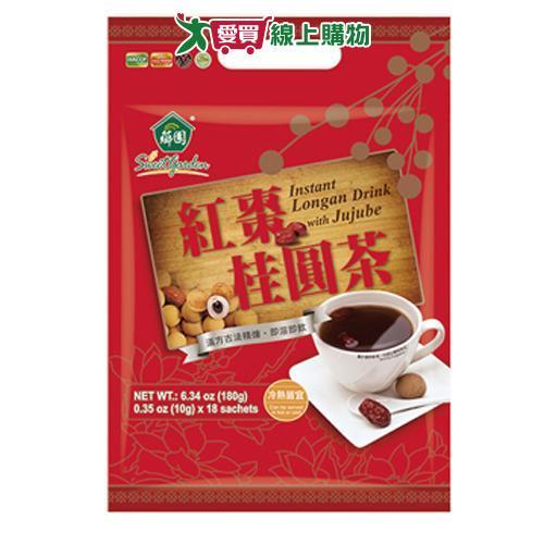 薌園紅棗桂圓茶10g*18入