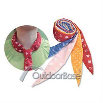 (買一送一)【Outdoorbase】神奇冰涼領巾 47062 (顏色隨機)
