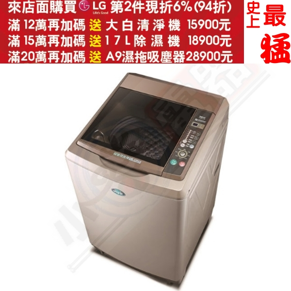 第二件94折+12期0利率★《結帳更優惠》SANLUX台灣三洋 【SW-17NS6】17KG 定頻直立式洗衣機