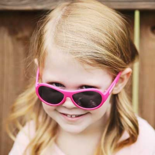 美國BABIATORS 嬰幼兒太陽眼鏡-芭比桃
