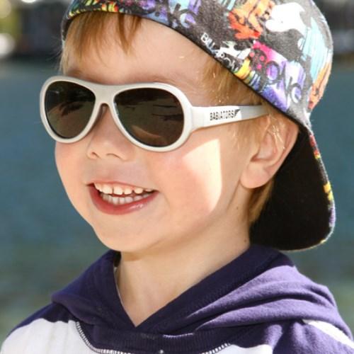 美國BABIATORS 嬰幼兒太陽眼鏡-天使白
