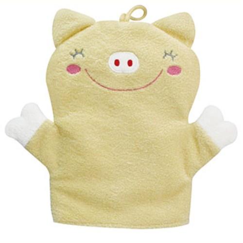 優生小豬沐浴手套
