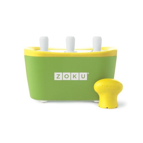ZOKU快速製冰棒機(三支裝) - 綠色