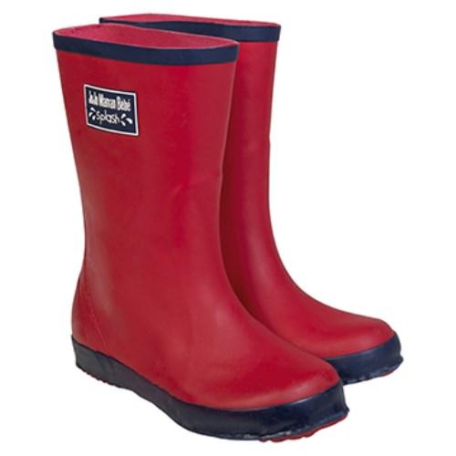 【HELLA 媽咪寶貝】英國 JoJo Maman BeBe 嬰幼兒童雨鞋 紅色(JJWG1-011)