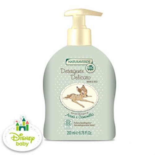 【Naturaverde BIO 自然之綠】小鹿斑比 洋甘菊舒敏沐浴清潔露(200ml)