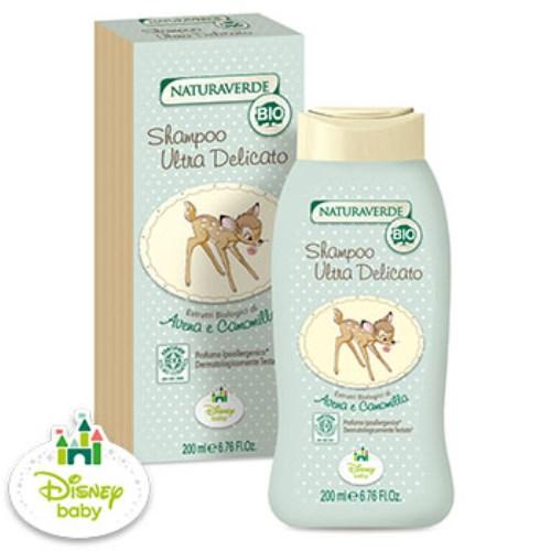 【Naturaverde BIO 自然之綠】小鹿斑比 洋甘菊舒敏洗髮精(200ml)