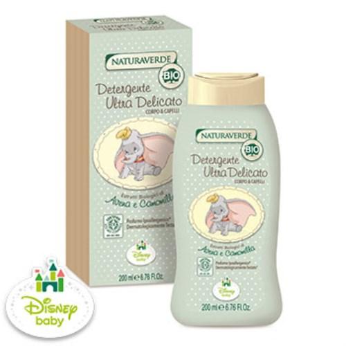 【Naturaverde BIO 自然之綠】小飛象 洋甘菊舒敏雙效洗髮沐浴露(200ml)