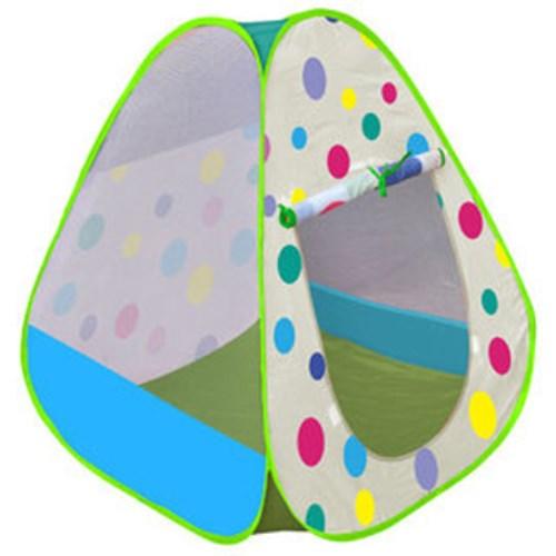 【孩子國】繽粉彩球帳篷折疊遊戲球屋送300球
