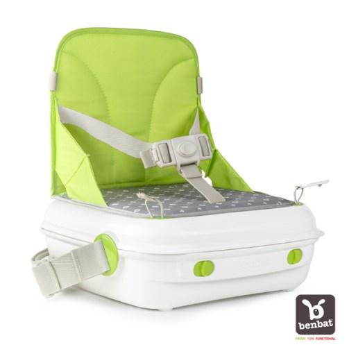 Benbat 墊高椅 + 收納箱(綠)