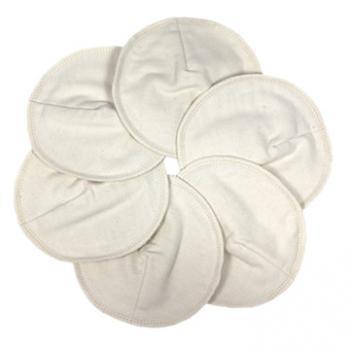 ImseVimse-有機法蘭棉絨哺乳護墊(6片組/12cm)