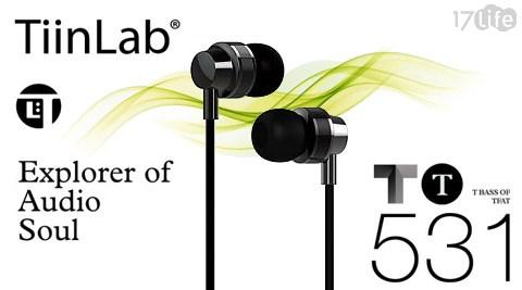 只要850元(含運)即可享有【TiinLab】原價1,490元周杰倫代言TBass of TFAT TT T低音系列耳機(TT531)1入。