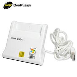 Digifusion 伽利略 RU035 直立式ATM晶片讀卡機 白