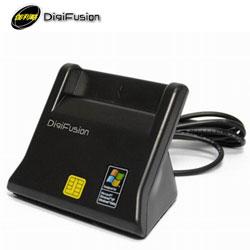Digifusion 伽利略 RU035 直立式ATM晶片讀卡機 黑