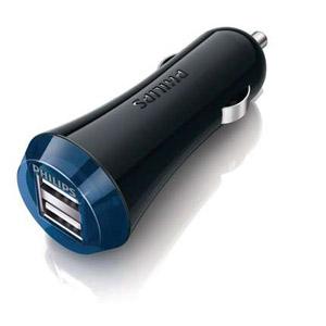 PHILIPS 飛利浦 DLP2257/10 OPP 車充 2.1A 雙USB孔