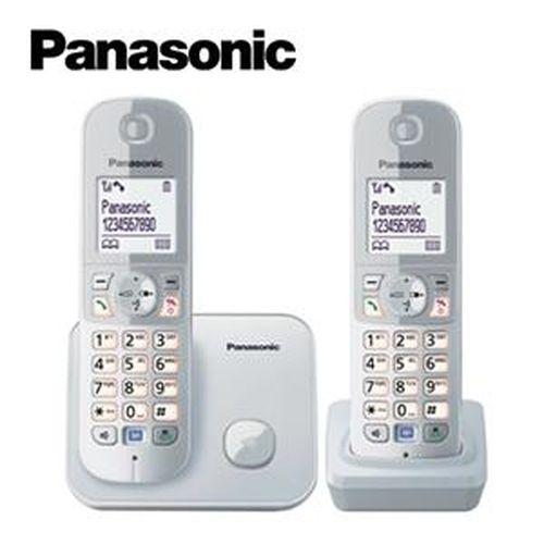 Panasonic 國際牌 中文顯示數位雙子機 KX-TG6812TW 銀