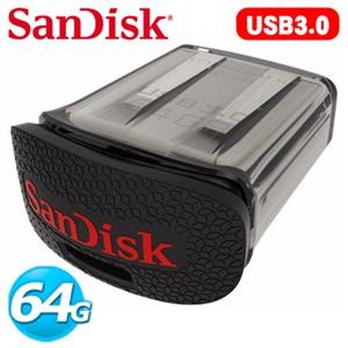 SanDisk新帝 CZ43 Ultra Fit USB 3.0 64G 隨身碟